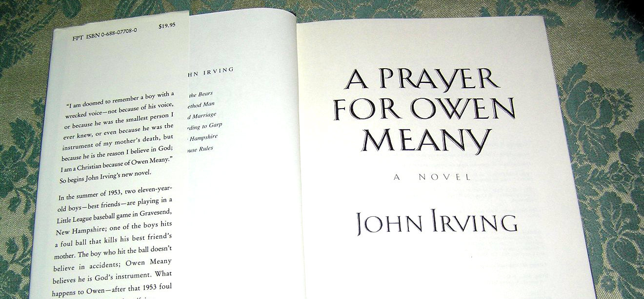 how owen meany in the novel a prayer for owen meany compares to jesus christ